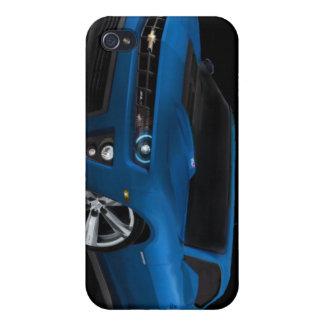 Caso de ZL1 Camaro IPOD iPhone 4 Carcasa
