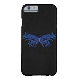 Caso decorativo del iPhone 6 de la mariposa Funda Barely There iPhone 6