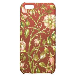 Caso decorativo del iPhone de las plantas y de las