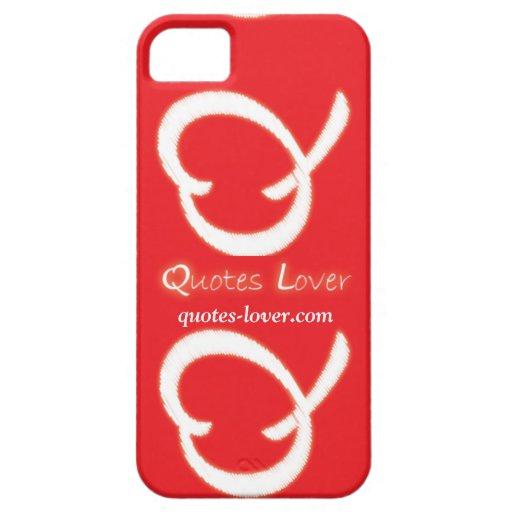 Caso del amante de las citas iPhone 5 Case-Mate protectores