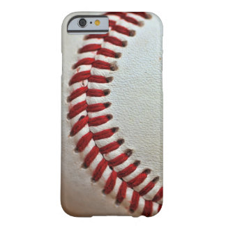 Caso del amante del béisbol funda de iPhone 6 slim