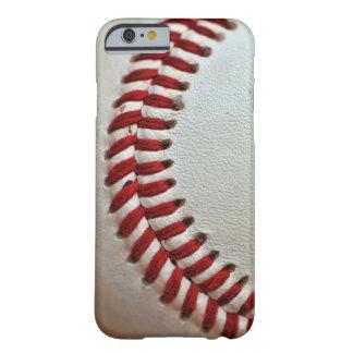 Caso del amante del béisbol funda para iPhone 6 barely there