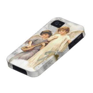 Caso del ambiente 4S del iPhone 4 de los ángeles d Case-Mate iPhone 4 Funda