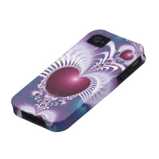 Caso del ambiente 4S del iPhone 4 de los corazones Case-Mate iPhone 4 Carcasas