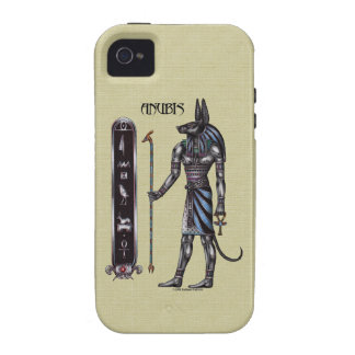 Caso del ambiente de Anubis iPhone4 Case-Mate iPhone 4 Carcasa