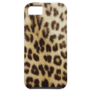 caso del ambiente de la casamata del leopardo del  iPhone 5 carcasas