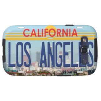 Caso del ambiente de la galaxia S3 de Los Ángeles  Samsung Galaxy SIII Funda