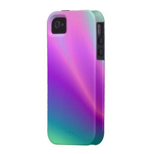 Caso del ambiente de la mezcla del color de la arm Case-Mate iPhone 4 carcasa