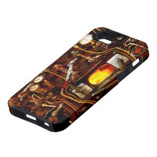 Caso del ambiente de Steampunk IPhone 5 iPhone 5 Case-Mate Carcasa