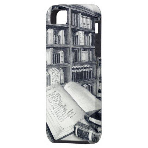 Caso del ambiente del iPhone 5/5s de los libros iPhone 5 Case-Mate Cobertura