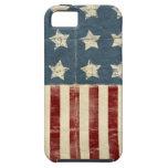 Caso del ambiente del iPhone 5 de la bandera ameri iPhone 5 Case-Mate Protectores