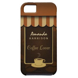 Caso del ambiente del iPhone 5 del amante del café Funda Para iPhone SE/5/5s