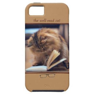 Caso del ambiente del iPhone 5 del gato de la iPhone 5 Funda