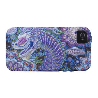 Caso del ambiente del iPhone del dragón del Año Nu Case-Mate iPhone 4 Carcasas