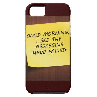 caso del ambiente del iphone - veo a los asesinos iPhone 5 carcasa