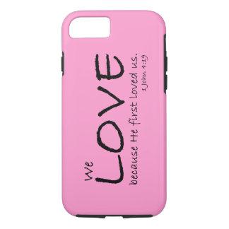 Caso del amor (1 4:19 de Juan) Funda iPhone 7