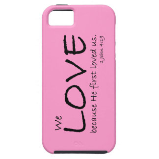 Caso del amor (1 4:19 de Juan) Funda Para iPhone SE/5/5s