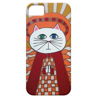 Caso del ángel del gato del iPad del iPhone del iPhone 5 Case-Mate Cárcasa