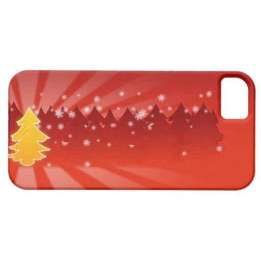 Caso del árbol de navidad iPhone5 iPhone 5 Case-Mate Protector
