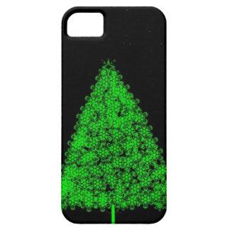 Caso del árbol de navidad iPhone5 Funda Para iPhone 5 Barely There