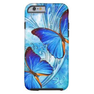 Caso del arte 37 de la mariposa funda para iPhone 6 tough