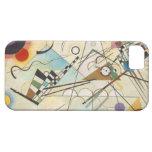 Caso del arte abstracto de Kandinsky iPhone 5 Case-Mate Funda