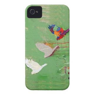Caso del arte abstracto de la renovación iPhone 4 fundas