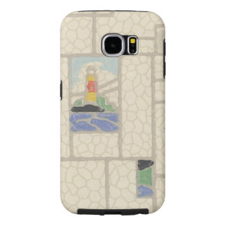 Caso del arte de la galaxia de Samsung Funda Samsung Galaxy S6