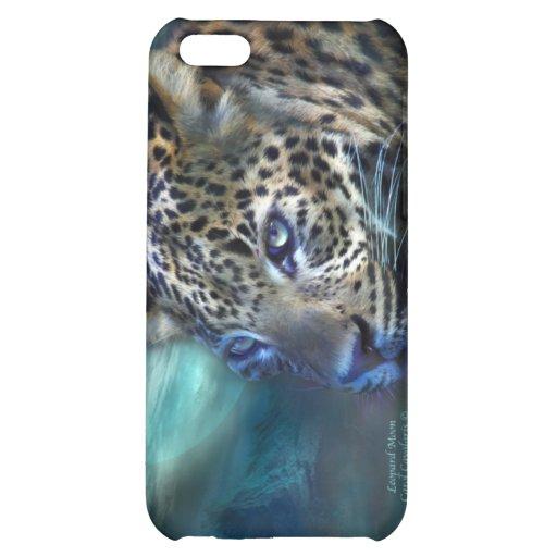 Caso del arte de la luna del leopardo para el iPho