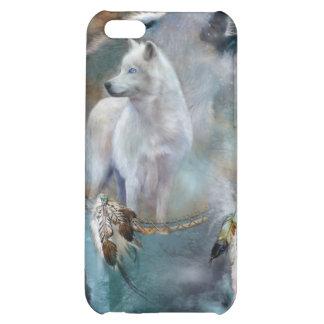 Caso del arte de los lobos del alcohol para iPhone