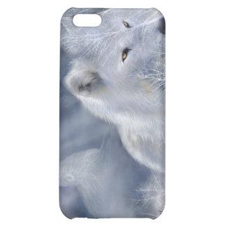 Caso del arte de White Wolf para el iPhone 4
