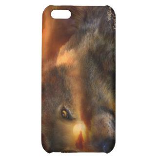 Caso del arte de WolfLand para el iPhone 4