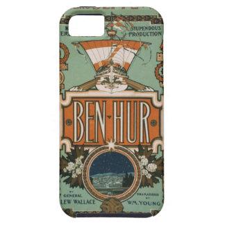 Caso del arte del vintage del hur de Ben iPhone 5 Carcasas