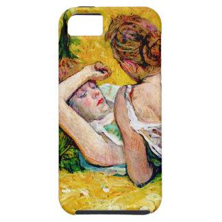 Caso del arte del vintage para el iPhone 5 - Toulo iPhone 5 Case-Mate Carcasa