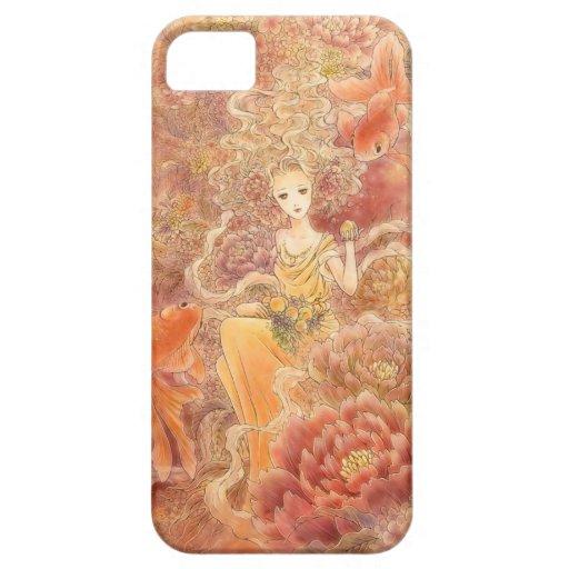 Caso del arte iPhone4 de la fantasía - abundancia iPhone 5 Case-Mate Protector
