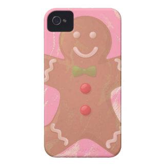 Caso del arte iPhone4 del hombre de pan de iPhone 4 Case-Mate Cobertura