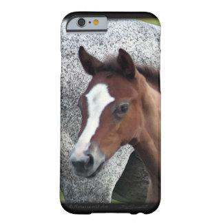 Caso del arte iPhone6 del potro del caballo Funda Para iPhone 6 Barely There