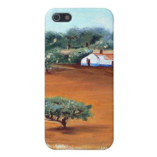 caso del arte iPhone 5 fundas