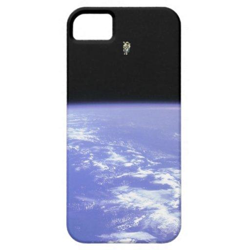 Caso del astronauta iPhone5 iPhone 5 Funda