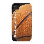 caso del baloncesto del iPhone 4 Case-Mate iPhone 4 Carcasas