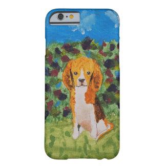Caso del beagle funda de iPhone 6 barely there