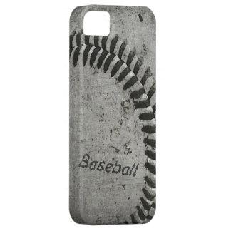 Caso del béisbol apenas allí para el iphone funda para iPhone SE/5/5s