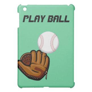 Caso del béisbol de la bola del juego para el ipad