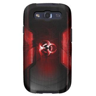 Caso del Bio-Peligro Galaxy S3 Carcasas
