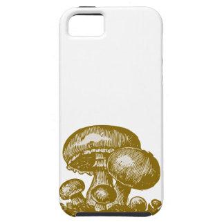 Caso del bosquejo del shroom del foodie de la iPhone 5 fundas