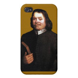Caso del Bunyan iPhone4 de Juan en Sr. Badman Brow iPhone 4 Fundas