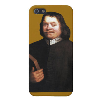 Caso del Bunyan iPhone4 de Juan en Sr. Badman Brow iPhone 5 Fundas
