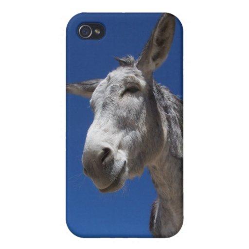 Caso del burro iPhone 4 funda