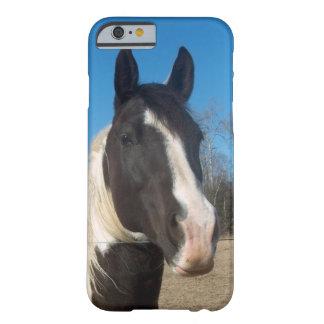 caso del caballo del caso del iPhone 6 Funda De iPhone 6 Barely There