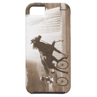 caso del caballo del trotón el competir con de iPhone 5 carcasas